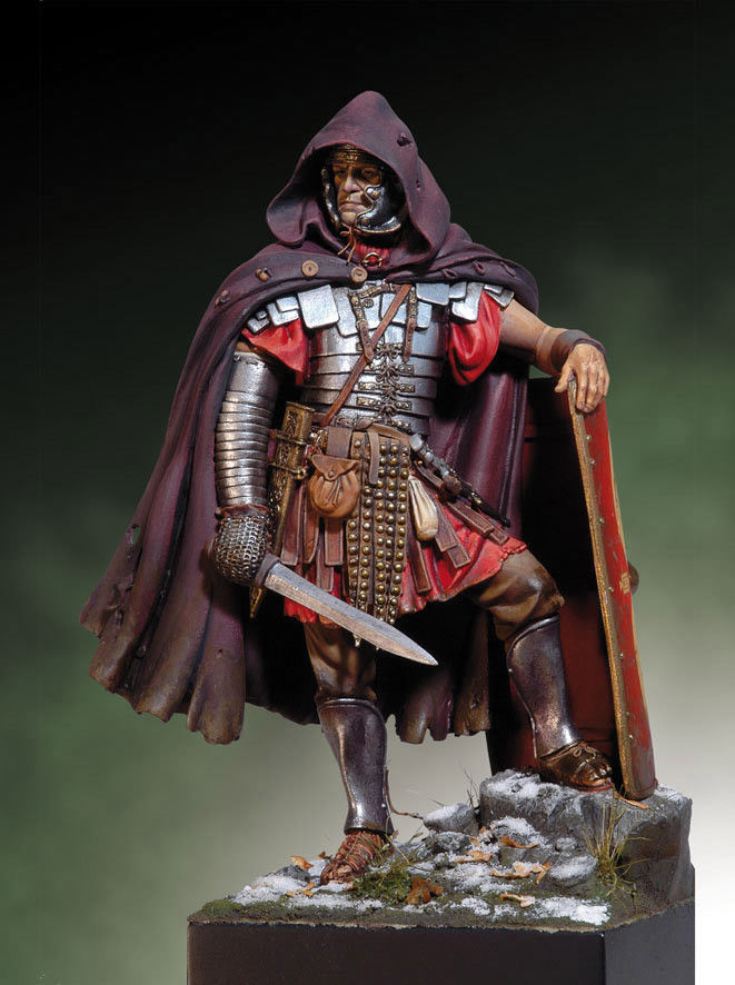 1/18 90mm Roman Legionary Ancient Dacian Wars With Base     Toy Resin Model Miniature Kit Unassembly Unpainted