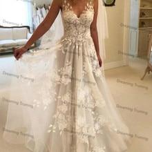 dreaming truing Wedding Dresses V-neck Floor Length