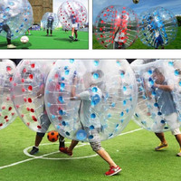PVC Air Bumper Zorb Ball Bubble Football Soccer Outdoor Toy