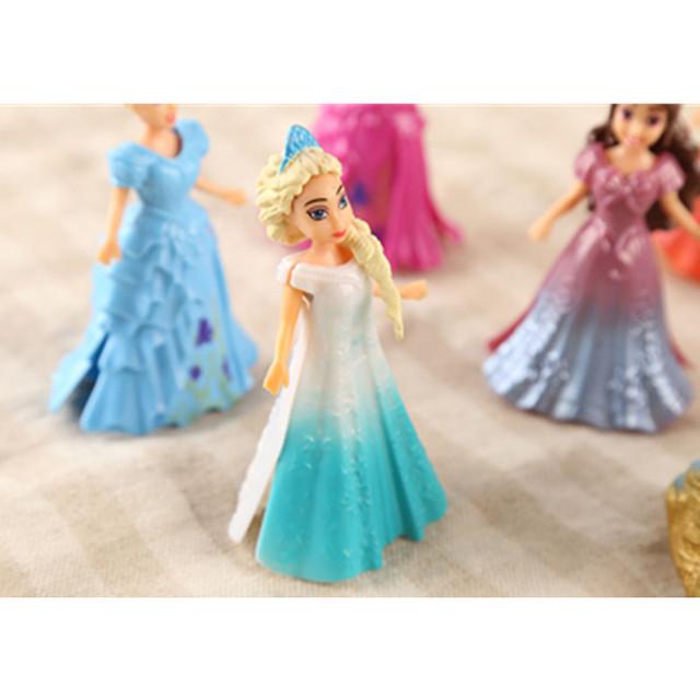 Disney Magic Clip Dolls  8pcs/set
