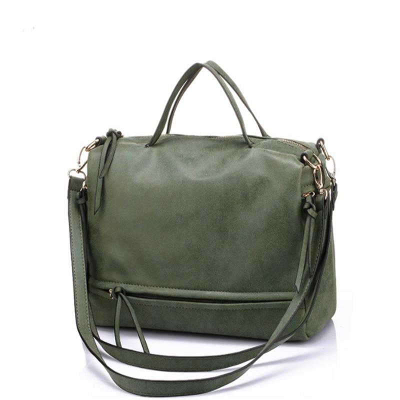 Women Scrub Leather Designer Handbags High Quality Shoulder Bags Ladies Handbags Fashion brand Tote Casual Women Large Bags