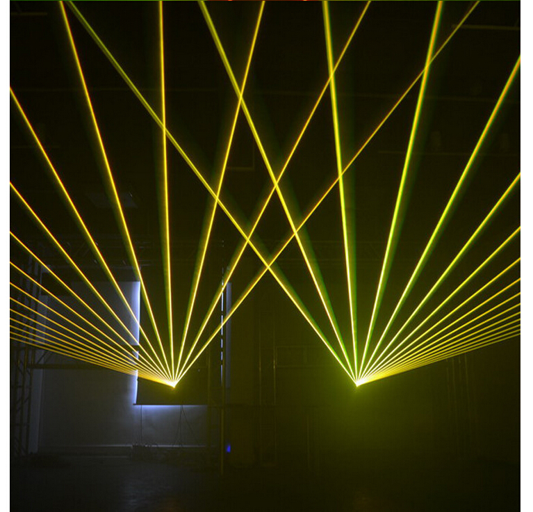 Ücretsiz kargo 3 W Lazer Işık 3000 mW RGB Beyaz Mix Animasyon - Ticari Aydınlatma - Fotoğraf 5