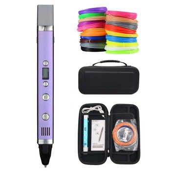 Myriwell 3rd 3D Drawing Pen USB Plug Creative Pen 3D graffiti pen Digital 4 speed regulation Best Gift For Kids 3d printing pen - DISCOUNT ITEM  45% OFF All Category
