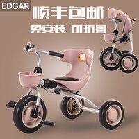 Falten licht kind dreirad fahrrad baby fahrrad 1-3 jahre alt baby