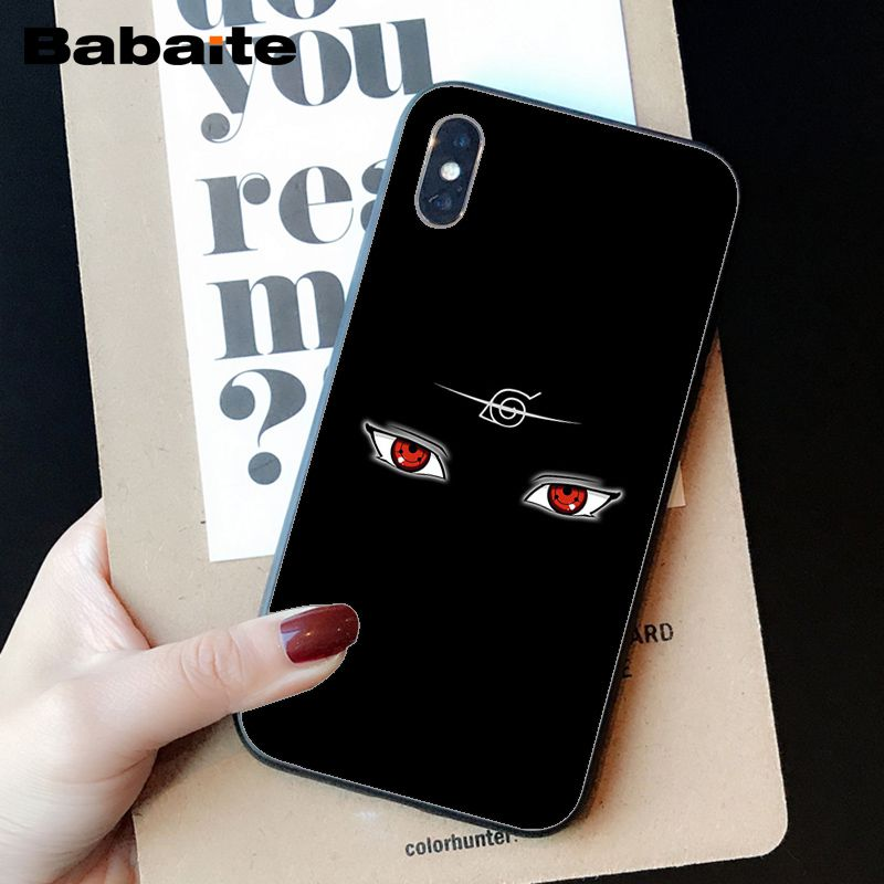 Babaite Hokage Naruto Kakashi Japan anime Soft Silicone TPU Phone Cover for iPhone 6S 6plus 7 7plus 8 8Plus X Xs MAX 5 5S XR in Half wrapped Cases from Cellphones Telecommunications