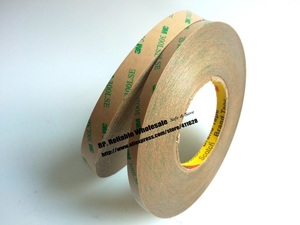 10mm+12mm *55M 3M 9495LE 300LSE Super Strong Double Sided Transfer Adhesive Tape for Phone Tablet LCD Digitizer Windows Display