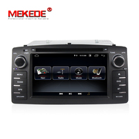 Quad core car radio Fit for Toyota Corolla E120 BYD F3 with android 8.1 system support gps dvd navigation autoaudio wifi BT SWC