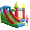 New Bouncy Castle With Slide Trampoline For Kids Toys Inflatable Bouncer