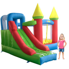 New Bouncy Castle With Slide Trampoline For Kids Toys Inflatable Bouncer Inflatable Toys Bounce House