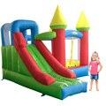 Novo Castelo Insuflável Com Slide Trampolim Para Crianças Brinquedos Infláveis Bouncer