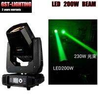 Новый светодиодный 200 Вт Луч движущийся головной свет 5R светодиодный Луч 2 градусов угол луча сценический dj луч светодиодный лампа DMX эффект