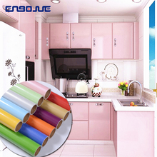 Modern Furniture Diy Decorative Film Bedroom Wardrobe PVC Solid Color Home Decor Wall Sticker Self Adhesive Waterproof Wallpaper