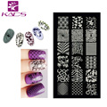 KADS CA29 Fashion Nail Stamping Plates Stainless Steel Image Stamping Nail Art Manicure Template Nail Stamp Tools