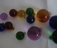 30PCS/lot, 20mm mixed color crystal hanging ball for chandelier parts&wedding,X-MAS event party supplie