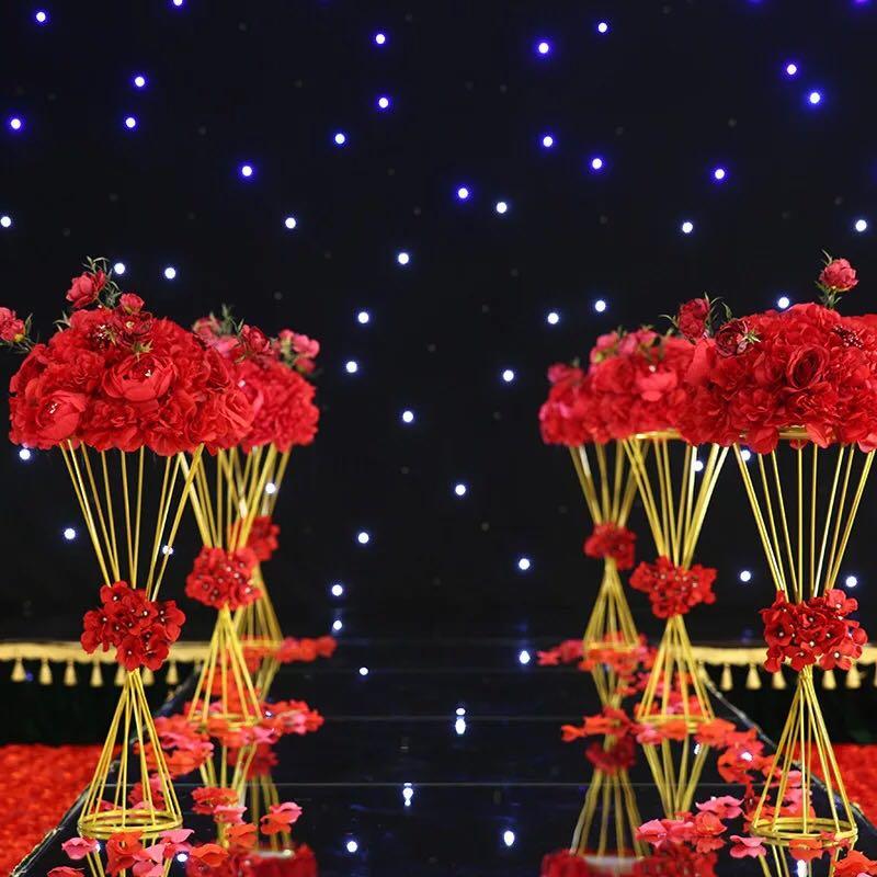 Wedding Columns Gold Wedding Flower Stand Wedding