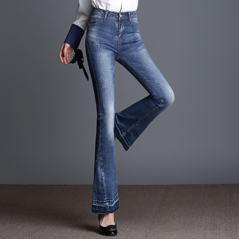 Online Buy Wholesale big bell bottom jeans from China big bell ...