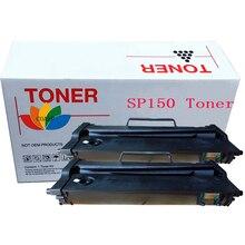 2pk Compatible Toner Cartridge SP 150 series for Ricoh Aficio SP150X, SP150SU, SP150SF, SP150SUW, SP150W, SP150S Laser Printer