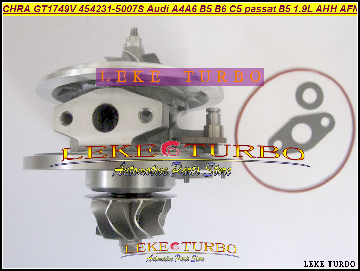 Turbo cartridge chra core GT1749V 454231 454231-5005S 454231-1 454231-3 454231-4 454231-5 028145702HV 1.9TDI 110HP Turbocharger turbo wastegate actuator gt1749v 454231 454231 5007s 028145702h for audi a4 b5 b6 a6 vw passat b5 avb bke ahh afn avg 1 9l tdi