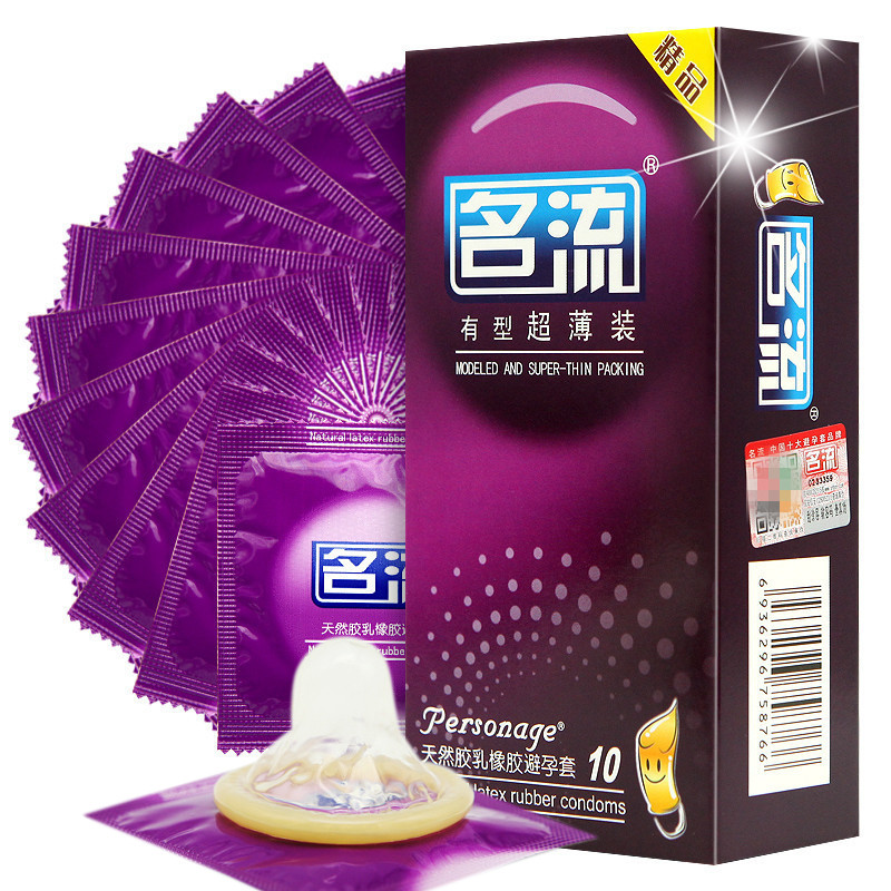50 Pieces (5 boxes) Super Thin Condoms For Couples Adult Sexs
