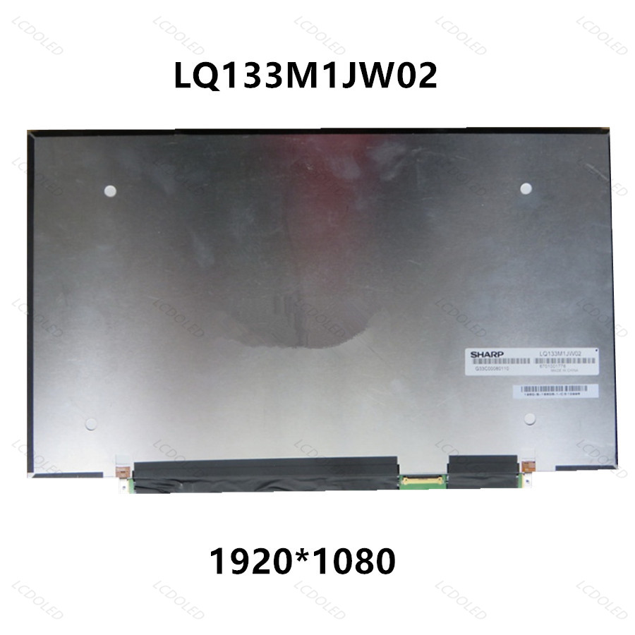 3pcs/lot 13.3 inch New FHD IPS LED LCD Screen Display Panel Matrix Replacement LQ133M1JW02 For Toshiba Portege Z30-A Z30-B R30-A цена