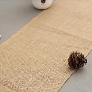 Image 4 - Camino de mesa de arpillera BALLE Vintage de yute, rústico, desgastado, corredor de mesa de arpillera para bodas, festivales, fiestas, decoraciones