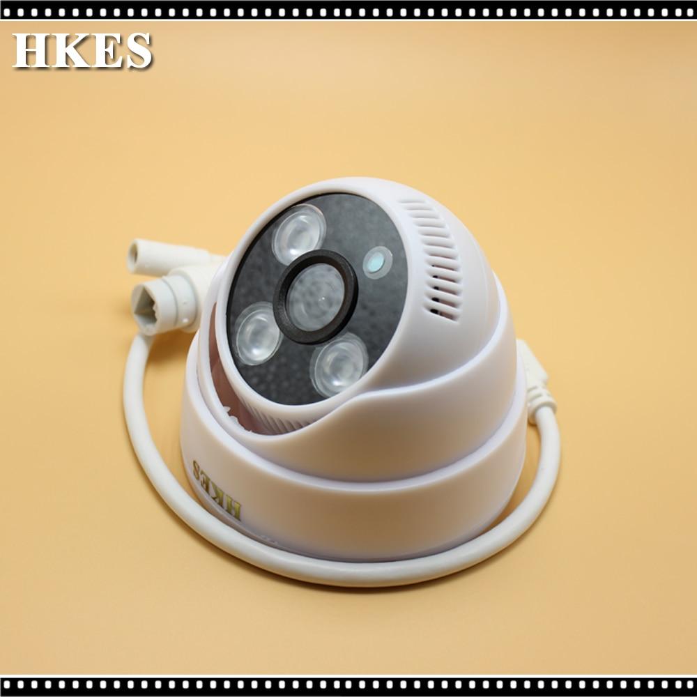 HKES CMOS IR CUT Filter CCTV IP Camera Video Surveillance Infrared Day Night Indoor Security Camera 1280*720P IPC newest mini security cctv camera cmos 380tvl audio video a v ir day night pal ntsc