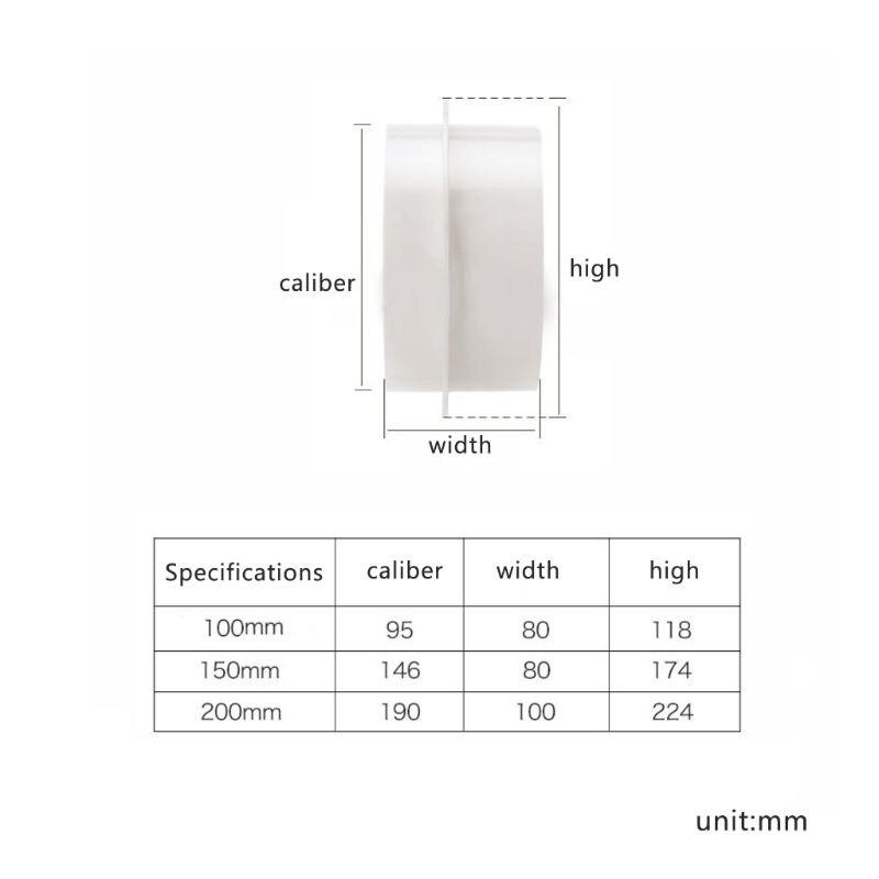 Проект блокатор Backdraft демпфер Inline Extractor воздухозаборник назад осадка затвора ww0823