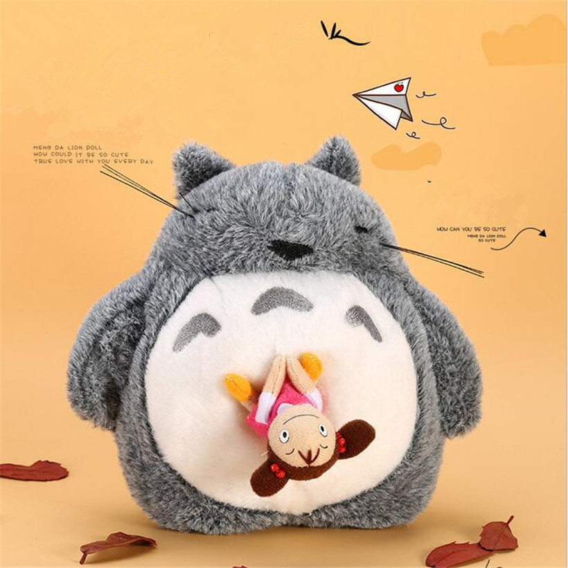 Snoring And Sound Cute Anime Totoro Plush Toys Stuffed Animals Totoro Doll Soft Toys For Children Stuffed Toy Girl Birthday Gift