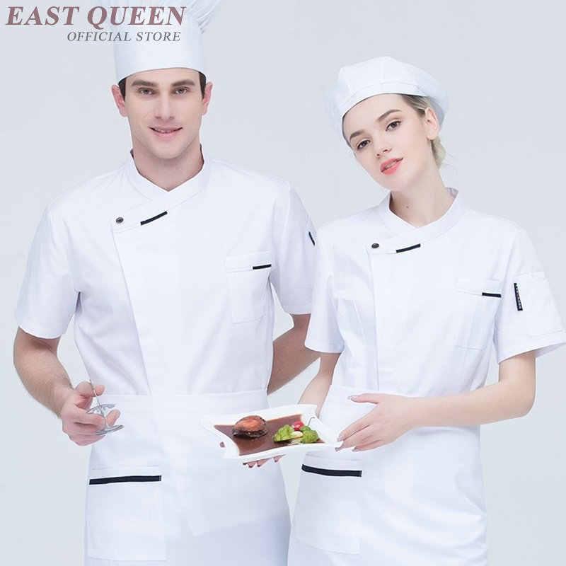 Еда обслуживание шеф-повар куртка китайский дракон готовить одежду для мужчин и женщин hotel кухня шеф-повара одежда униформа ресторана DD1089 Y