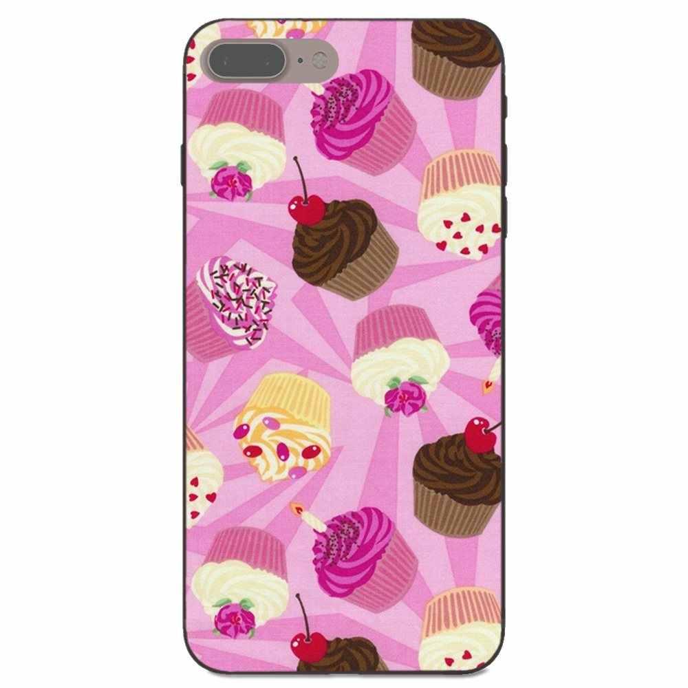 Чехол для Huawei Honor 5A 6A 6C 7A 7C 7X 8A 8C 8X9 10 P8 P9 P10 P20 P30 Мини Lite плюс вкусные чашки торт пончики десерт сердце