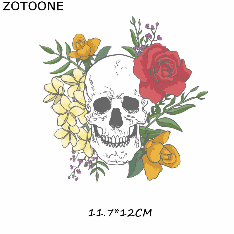 ZOTOONE Cute Cartoon Animals Patch Set Iron on Transfer Clothing Patches Heat Transfer Viny Lstickers on Clothes Thermal Press E in Patches from Home Garden
