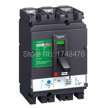 ФОТО NEW LV525333 Easypact CVS - CVS250F TM250D circuitbreaker - 3P/3d