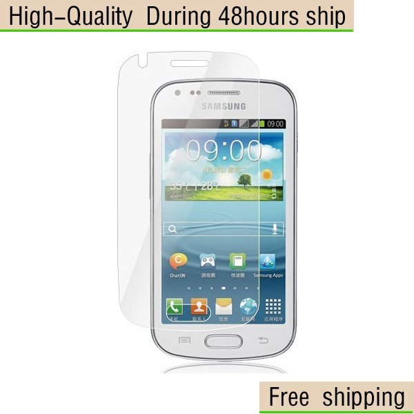 New Clear Screen Protector For Samsung  S7562 Galaxy S Duos  Free Shipping