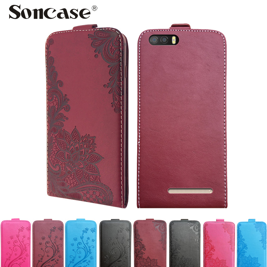 3D Stereo Embossing lace flower butterfly flip up and down leather phone bag cover case for <font><b>Leagoo</b></font> <font><b>P1</b></font> <font><b>Pro</b></font> image