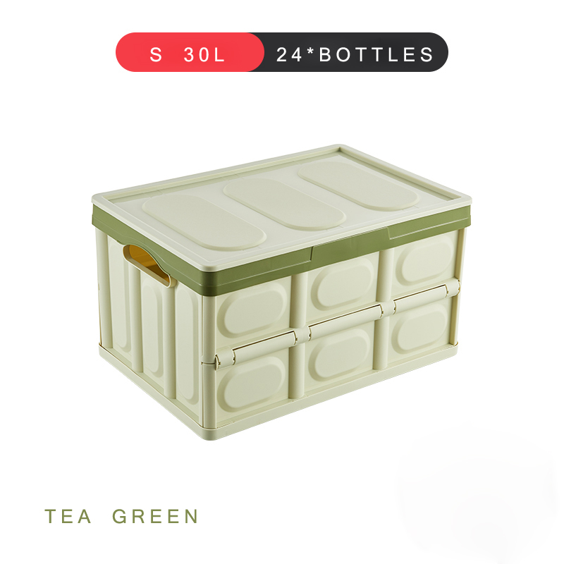 Image 3 - E FOUR Car Fresh Transport Box Fruit Live Fish Ice Frozen Water Dry Bag Case Vehicle Trunk Storage PP Box Folding Accessory Cars-in Rear Racks & Accessories from Automobiles & Motorcycles