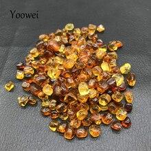 Нестандартные Янтарные Бусины Yoowei, 10 г, без отверстия, для коллекции редких камней манзы, сделай сам, оригинальный тигровый янтарь бусины, оп...