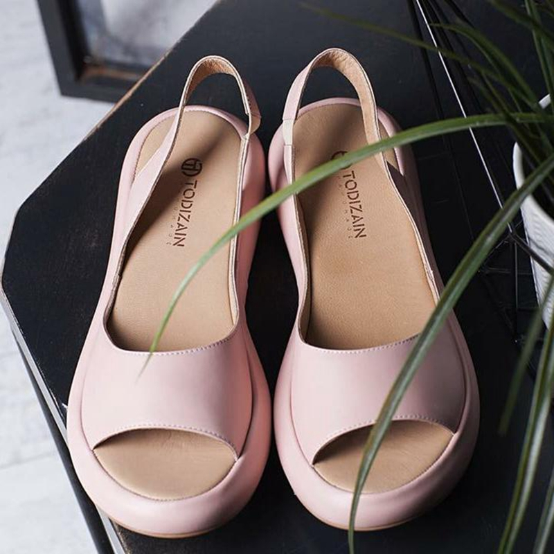 HEFLASHOR  New Summer Fashion Women Sandals  Rome Slip-On Breathable Non-slip Shoes Woman Slides Solid Casual Female  Flip Flops