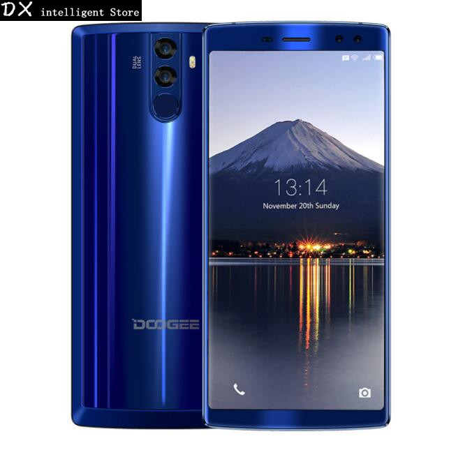 DOOGEE BL12000 12000 mAh Charge Rapide 16.0MP Quad Caméra 6.0 SmartPhone MTK6750T Octa Core 4 GB + 32 GB OTG D'empreintes Digitales Mobile Téléphone