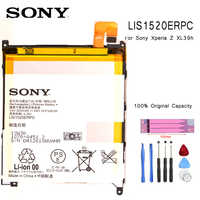 Original SONY Telefon Batterie Für SONY XL39h Xperia Z Ultra C6802 Togari L4 ZU C6833 Ersatz Batterien LIS1520ERPC bateria