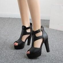 Women Peep Toe Spike Heels