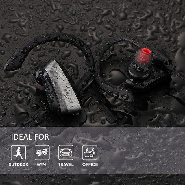 IPUDIS Sport Bluetooth Waterproof Wireless Earphone 4