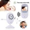 2.4 de polegada 2.4 Ghz Sem Fio do bebê Baba Camera 2 Way Discussão IR de Visão Noturna LED Monitor Do Bebê Chorando de Alarme Zoom de Segurança Música Babyfoon