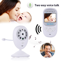 2.4 inch 2.4Ghz Wireless Baba baby Camera 2 Way Talk IR NightVision LED Baby Monitor Crying Alarm Zoom Music Safety Babyfoon