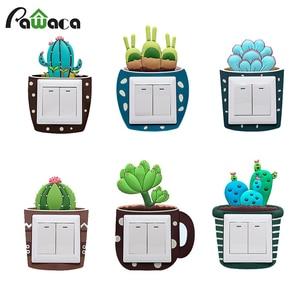 Cute Cartoon 3D Cactus Fluores