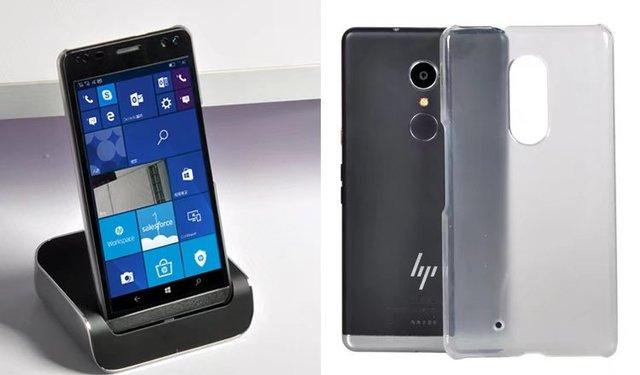 9b988ec2957c7b DOLMOBILE Ultra Slim PC Transparent Hard Case Shell Crystal Back Cover for HP  Elite X3 5.69