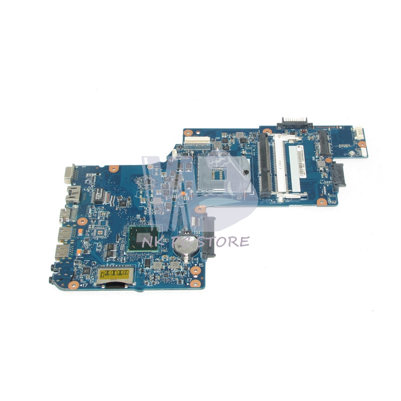 NOKOTION H000052610 Main board For Toshiba Satellite C850 L850 Laptop Motherboard SJTNV HM70 DDR3 Free CPU nokotion a000073700 laptop motherboard for toshiba satellite l640 l645 main board da0te2mb6g0 intel hm55 gma hd ddr3