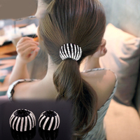Korean Version of the First Flowers Rhinestone Jewelry Hair Buckle Headdress Bramble Balls Hair Clip Caught