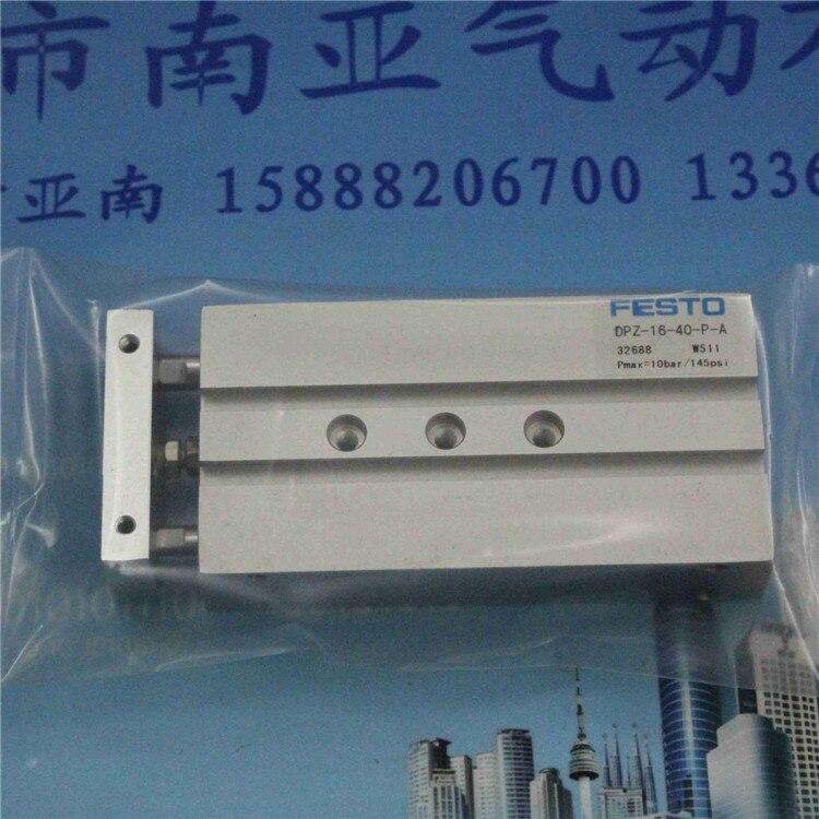 все цены на  DPZ-16-40-P-A  FESTO Double rod cylinder air cylinder pneumatic component air tools DPZ series  онлайн