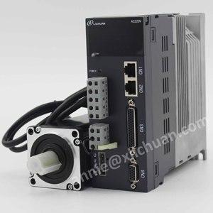 Image 4 - Lichuan 400w servo motor with driver kit 60st 01330 ac servo motor AC220V 3000rpm AC motor servo cnc for cnc servo kit