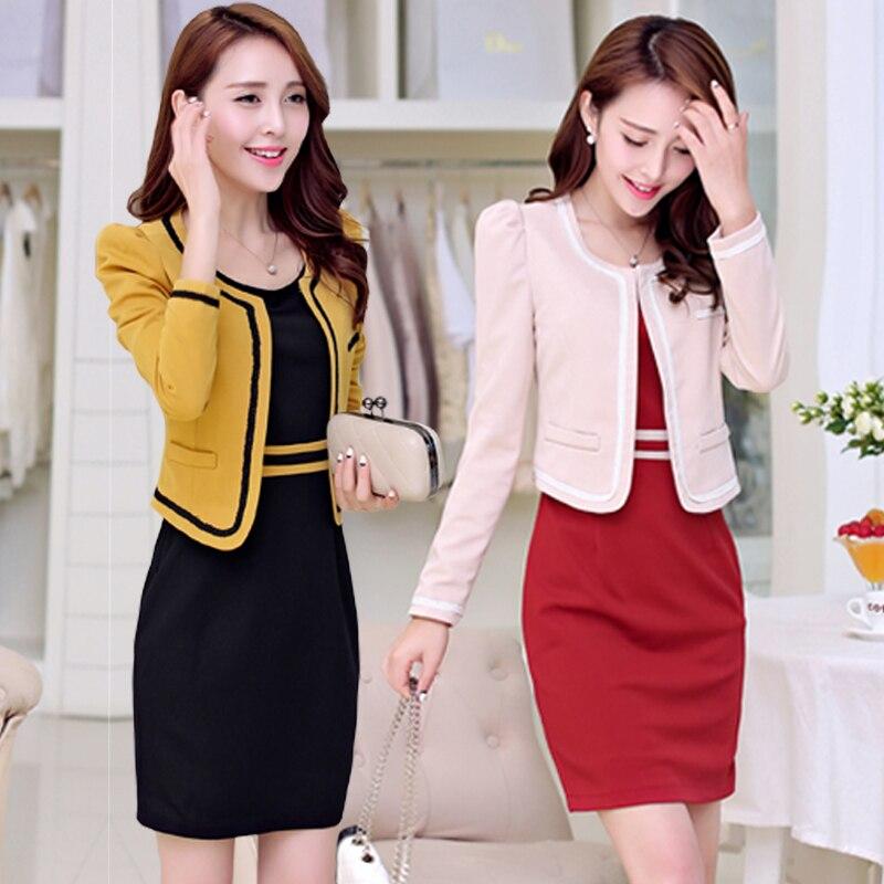 2015 spring new women suit Korean fashion cute large size slim ...